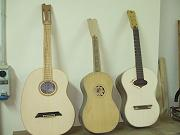 Models of guitars in preparation: Bean, Battente, Ilvolo