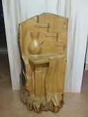 'Arte nel legno' (Art in wood) - Sculpture made of cypress wood (sold)