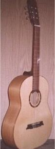 Classical guitar made in the workshop Bottega Campitiello