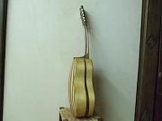 Chitarra battente - sides and soundboard in walnut and maple wood