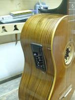 Chitarra battente - amplifier