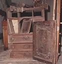 Antique furniture from Cilento area