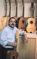 Domenico Campitiello an exhibition of his guitars